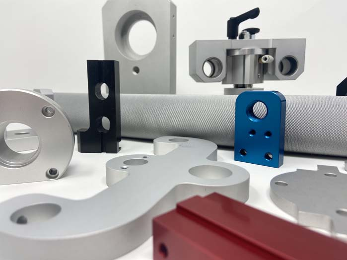 Machined and finished parts
