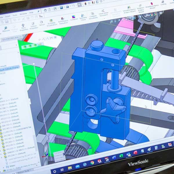CAD data design